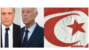 """حصل المترشح المستقل وأستاذ القانون الدستوري قيس سعيّد على المرتبة الأولى بنسبة 18,4 % في الانتخابات الرئاسية التونسية (الدور الأول)، في حين حصل مرشح حزب """"قلب تونس"""" ومؤسس القناة التلفزيونية الخاصة """"نسمة""""، نبيل القروي، على 15,6 في المائة."""