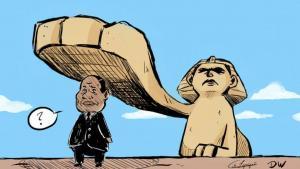 ما دلالات أول مظاهرات مناهضة لـنظام السيسي تشهدها مصر. الصورة: دويتشه فيله