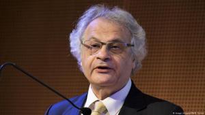 الأديب والصحفي اللبناني أمين معلوف. Foto: Imago Images/IPA/N. Zonna