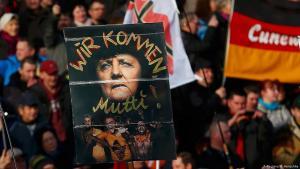 مظاهرة لليمين المتطرف - حركة بغيدا 06 / 02 / 2016 - في مدينة دريسدن - ألمانيا.  Foto: Reuters/H. Hanschke