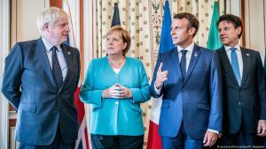 قادة ألمانيا وفرنسا وبريطانيا وإيطاليا