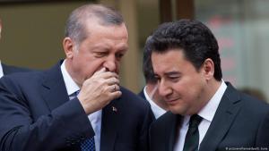 الرئيس التركي رجب طيب إردوغان ونائب رئيس الوزراء التركي علي باباجان  29 / 05 / 2015 في اسطنبول - تركيا.  (photo: EPA/SEDAT SUNA)
