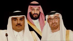 """يحكي وثائقي جديد بثته قناة """"فرانس 24""""، قصة """"المواجهة"""" بين 3 أمراء، ارتقوا إلى السلطة فيما أسمته الممالك النفطية الأغنى في العالم: السعودية وقطر والإمارات."""