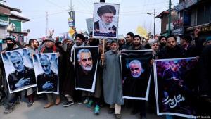 مقتل قائد فيلق القدس في الحرس الثوري الإيراني قاسم سليماني في غارة أميركية في العراق
