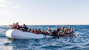 لاجئون أفارقة على السواحل البيبية 27 / 01 / 2018. Foto: picture-alliance/dpa