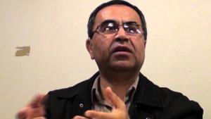 الصحفي والناشط الإيراني رضا عليجاني. Quelle: YouTube