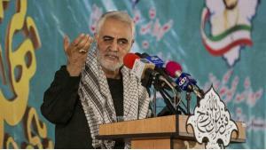 الجنرال الإيراني قاسم سليماني (قائد فيلق القدس) في الحرس الثوري الإيراني. Foto: dpa