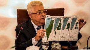 """القدس ليست للبيع، هكذا رد الفلسطينيون على خطة ترامب إقامة دولة فلسطينية عاصمتها ضاحية بالقدس الشرقية. ورفضت الجامعة العربية شرعنة ترامب للاحتلال الإسرائيلي. ورفض الاتحاد الأوروبي الاعتراف بسيادة إسرائيل على الأراضي الفلسطينية المحتلة منذ عام 1967 بما فيها الضفة الغربية والقدس الشرقية وهضبة الجولان وحذر من خطة ترامب للسلام بالشرق الأوسط """"صفقة القرن""""."""