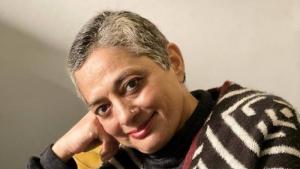 سعدية دهلوي الكاتبة الهندية المسلمة الشهيرة المستقرة في دلهي. (photo: Mayank Austen Soofi)