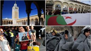 كارثة كورونا تخيم على مهاجري أوروبا ومآذن تونس وحراك الجزائر