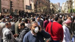 آثار فيروس كورونا في القاهرة - مصر.  Ägypten; Foto: picture-alliance
