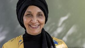 الأديبة السودانية البريطانية ليلى أبو العلا.  (photo: picture-alliance/EdinburghEliteMedia/Ger Harley)
