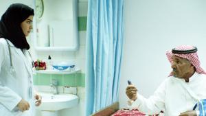 """صورة من فيلم """"المرشحة المثالية"""" للمخرجة السعودية هيفاء المنصور. Quelle: Neue Visionen Filmverleih"""