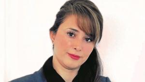 الكاتبة والناشطة الكردية آفا هوما من إيران.  (photo: Sam Attar)