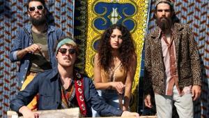 """أعضاء فرقة """"باب لبلوز"""" المغربية الفرانكفونية. Foto: © Bab L'Bluz"""