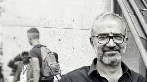 الشاعر السوري حسين بن حمزة.  Foto: Privat