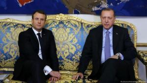 توتر متزايد بين فرنسا وتركيا بسبب دور كل منهما في الأزمة الليبية.