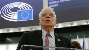 جوزيب بوريل مسؤول السياسة الخارجية في الاتحاد الأوروبي. Foto: Reuters/V. Kessler