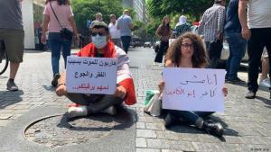 أنا مش كافر″.. مأساة وسط بيروت تعكس مدى تدهور أوضاع لبنان | الصورة دويتشه فيله العريدي