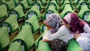 ذكرى مجزرة سربرنیتسا - إبادة نحو 8000 من المدنيين المسلمين في البوسنة والهرسك.