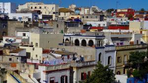 منظر من حي القصبة في مدينة طنجة المغربية. Foto: Claudia Mende