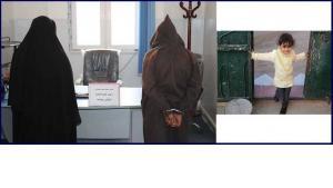 من اليمين إلى اليسار: الضحية براء عمران ، ١٠ أعوام. القاتل المزعوم ، والديها. | ©نسويات ليبيا (تويتر)