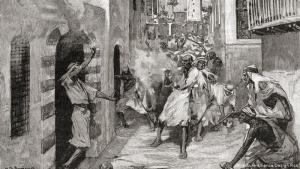 """فتنة جبل لبنان: سكنت عدة طوائف في المناطق المعروفة حالياً بلبنان، خاصة منطقة جبل لبنان. لكن الطوائف الأبرز كانت ستة: الموارنة والأرثودوكس والكاثوليك، وفي الجانب الآخر الدروز والسنة والشيعة. بقي الجبل تحت سيطرة العثمانيين، لكنه شهد توترات طائفية خطيرة خاصة المجازر بين الدروز والموارنة عام 1860. تدخلت قوى أوروبية في المنطقة خاصة منها فرنسا، وشهد جبل لبنان بضغط أوروبي قيام نظام """"المتصرفية"""" الذي عزّز الوجود الماروني."""