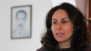 الباحثة التونسية ألفة يوسف. الصورة خاص