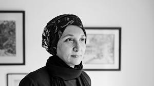 """حوار مع الكاتبة السودانية-المصرية ليلى أبو العلا كاتبة رواية """"منارة"""". (تصوير: جُودِي لانڠ) (photo: Judy Laing)"""