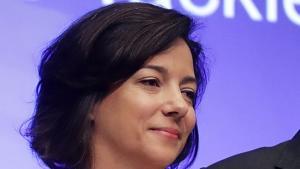 الصحفية اللبنانية الهولندية كيم غطاس العاملة في هيئة الإذاعة البريطانية بي بي سي.