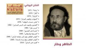 الأديب الجزائري الطاهر وطَّار. at-tahir_wattar_algerischer_schriftsteller_screenshot_von_kataranovels.com