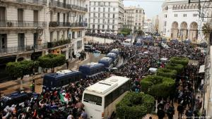 العاصمة الجزائر يوم 22 فبراير/شباط 2021