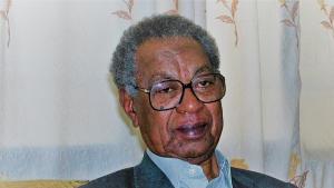 """الطيب صالح (1929-2009) – من أكبر أدباء السودان في القرن العشرين (الصورة: """"غيتي""""، """"فرانس پريس""""، أشرف الشاذلي)  (photo: Getty Images/AFP/Ashraf Shazly"""