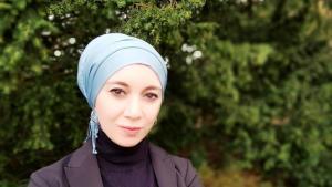 مستشارةُ الزواج والأسرة في جمعية مركز اللقاء والتدريب للنساء المسلمات بمدينة كولونيا – ألمانيا.  Foto: privat