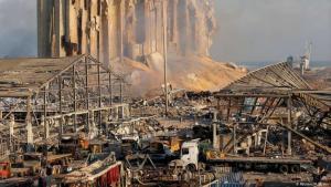 في آب/أغسطس الماضي شهدت بيروت انفجارا مروعا عزته السلطات إلى تخزين كميات هائلة من نيترات الأمونيوم