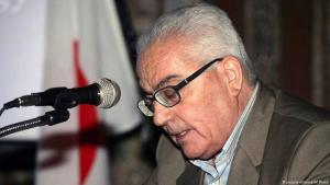 عالم الآثار الراحل خالد الأسعد الذي قتله تنظيم داعش الإرهابي في مدينته الأثرية تدمر السورية.