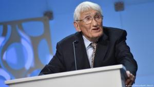 الفيلسوف الألماني هابرماس يرفض جائزة الشيخ زايد للكتاب: (Foto: picture-alliance/dpa/Pansch )