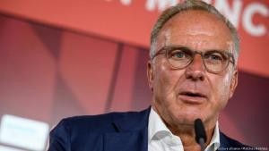 كارل-هاينز رومينيغه الرئيس التنفيذي لنادي بايرن ميونخ الألماني لكرة القدم