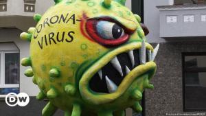 صورة رمزية فيروس كورونا -  كوفيد 19.
