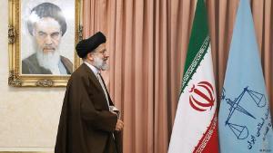 مرشح المحافظين في إيران إبراهيم رئيسي.