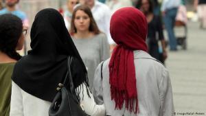 نساء مسلمات في ميونخ. Foto: Imago