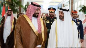 الأمير السعودي محمد بن سلمان والشيخ الإماراتي محمد بن زايد لم يظهرا سوية منذ فترة (27 / 11 / 2019 أرشيف)
