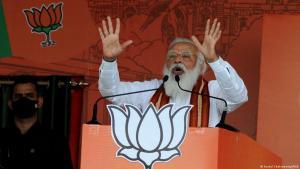 رئيس الوزراء الهندي ناريندرا مودي. (photo: Kuntal Chakrabarty/IANS)