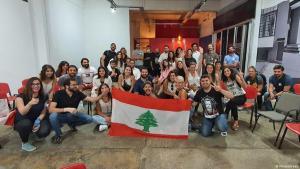 """مجموعة نشطاء اسمها """"منتشرين""""  - لبنان. Foto: Minteshreen"""
