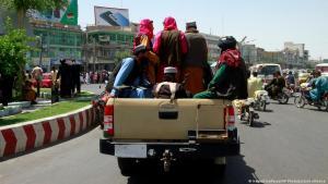 سيطرة طالبان في أفغانستان بلا مقاومة. Taliban Afghanistan 2021 Foto Picture Alliance