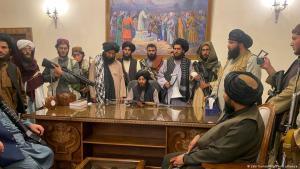 طالبان في القصر الرئاسي في كابول - أفغانستان Taliban in The Presidential Palace in Kabul Afghanistan Lage in Kabul spitzt sich zu 15.08.2021 Foto Picture Alliance