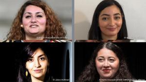 ريم العبلي - رادوفان، لمياء قدور، سناء عبدي، ورشا نصر