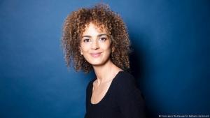 الروائية الفرنسية-المغربية ليلى سليماني، الحائزة على جائزة غونكور للأدب