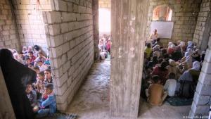 التعليم في اليمن - أطفال تلاميذ في صنعاء.  Yemen Bildung in Jemen FOTO DW