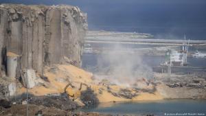 الانفجار الضخم في ميناء بيروت في لبنان. Libanon Explosion in Beirut FOTO PICTURE ALLIANCE
